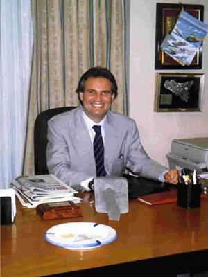 Il presidente di Federalberghi Calabria, Vittorio Caminiti
