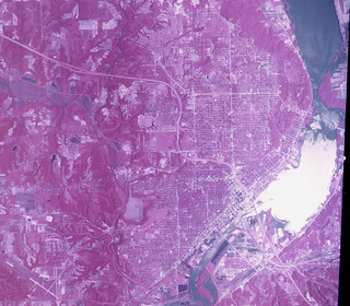 Peoria - Satellite View (1970)