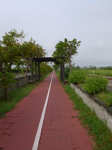 自行車道@台中港