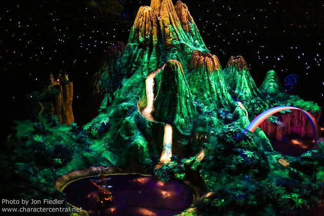Disneyland July 2012 - Riding Peter Pan's Flight