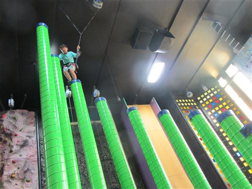 Altitude Gym Clip and Climb towers of terror