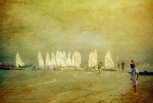 Sea Fog at Priory Bay