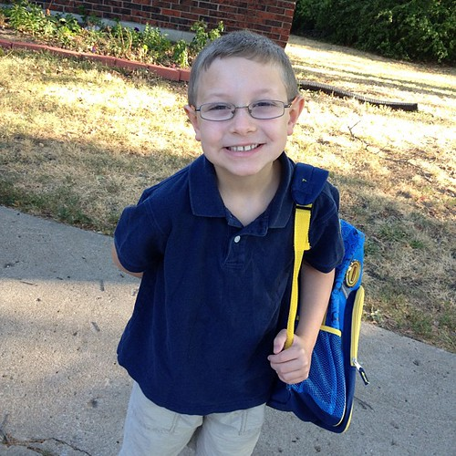 1st day of 2nd grade! #daily