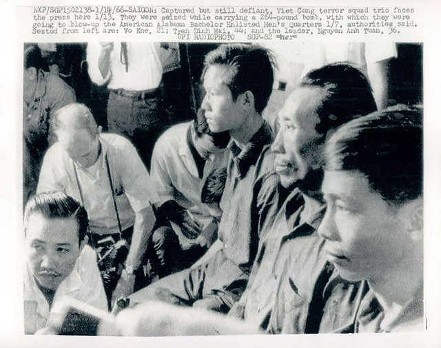 Saigon 1966 - Viet Cong Soldiers Face The Press After Capture