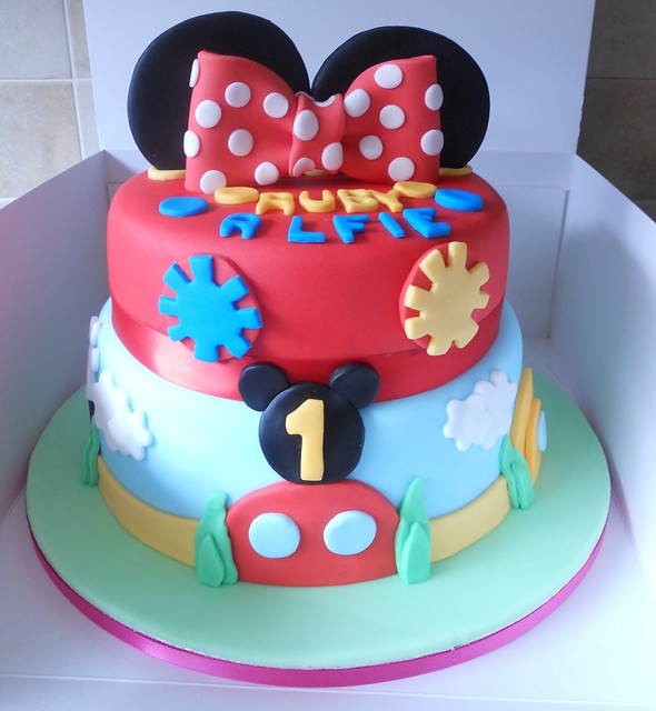 Mickey Mouse Clubhouse Birthday cake Flickr - Photo Sharing!