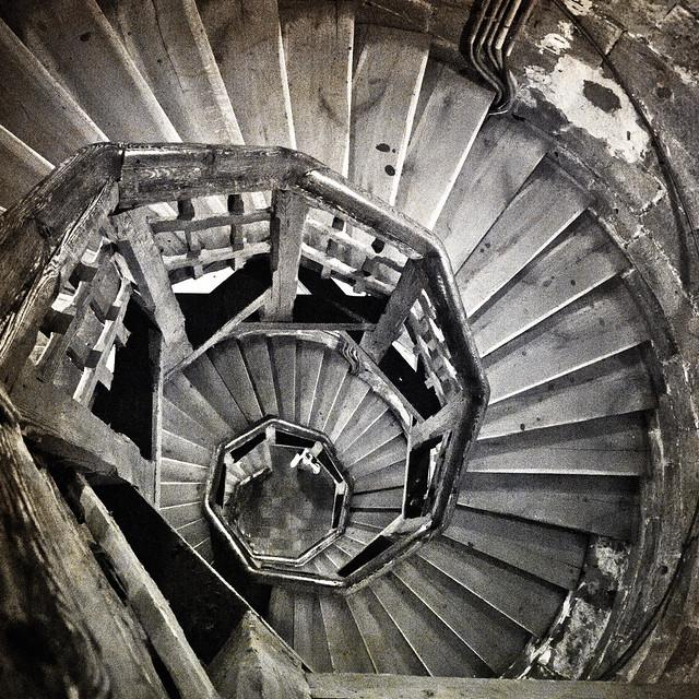 Escalera de caracol