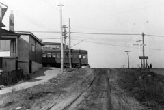 Birch Cliff News posted a photo:	On Birchmount Road, looking north to radial car on Kingston Road. Courtesy of Scarborough Archives