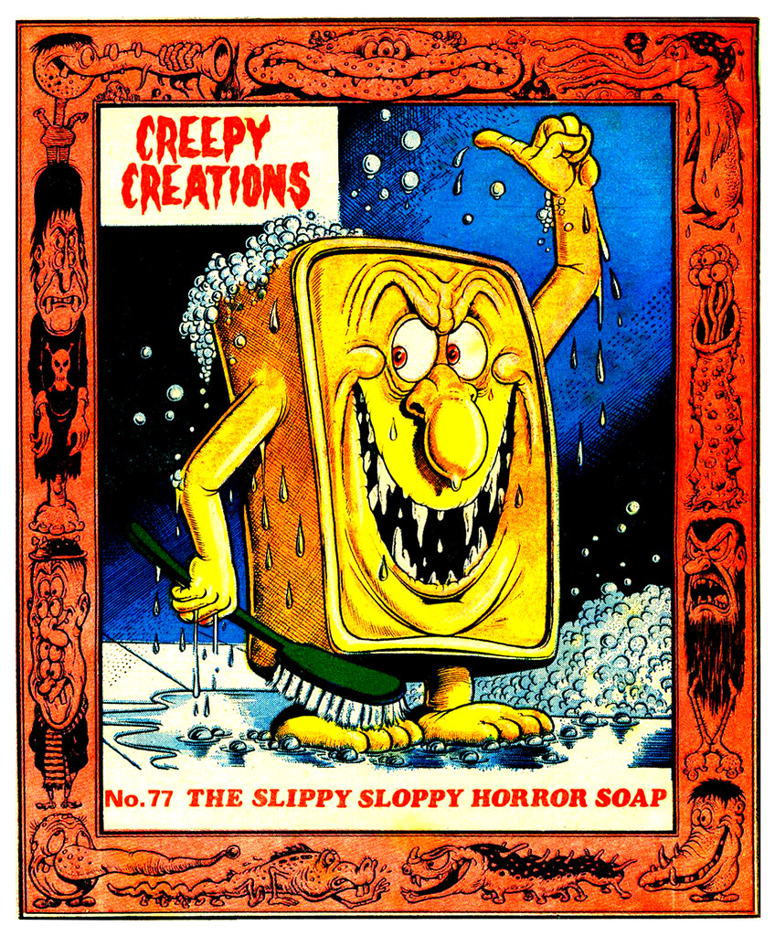 Creepy Creations No.77 - The Slippy Sloppy Horror Soap