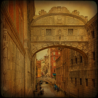 Venice... Bridge of Sighs.