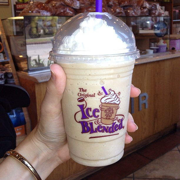 Heavenly on a hot summer day. Thanks @CoffeeBean