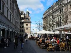 Cafe life, Geneva