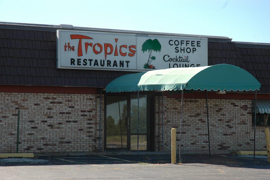 The Tropics Restaurant, Lincoln, IL