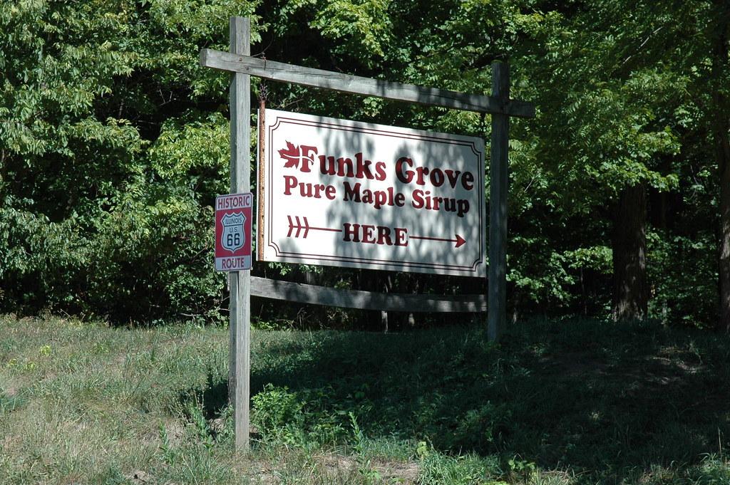 Funks Grove Pure Maple Sirup, Shirley, IL