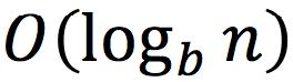 O(log_b_n)