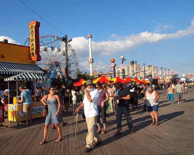 Coney Island Boardwalk Brooklyn New York City Flickr Photo Sharing