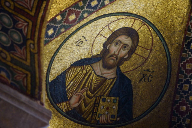 Monastery of Hosios Loukas (Μονὴ τῆς Ὅσιος Λουκᾶς) Greece, Aug 2012. 05-070