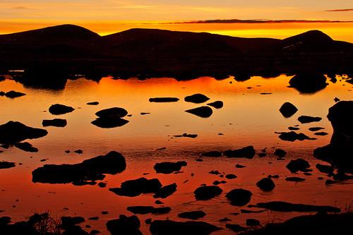 mountain mountains ice norway sunrise norge noorwegen valdresflya colorfulsunrise klaracolor