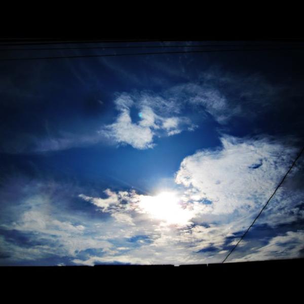 peek-a-boo sun