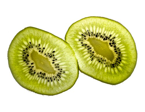 kiwifruit with light field