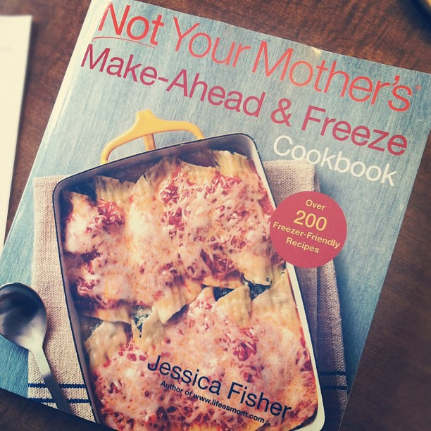 Excitement over what arrived in the mail today!!! @lifeasmom's cookbook!!!
