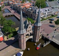 Watergate in Sneek, the Netherlands