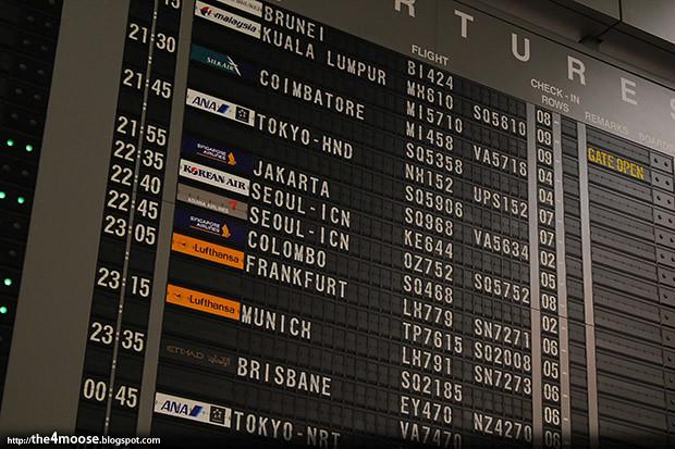 OZ 752 - Changi International Airport