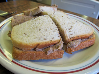 Chopped Liver Sandwich