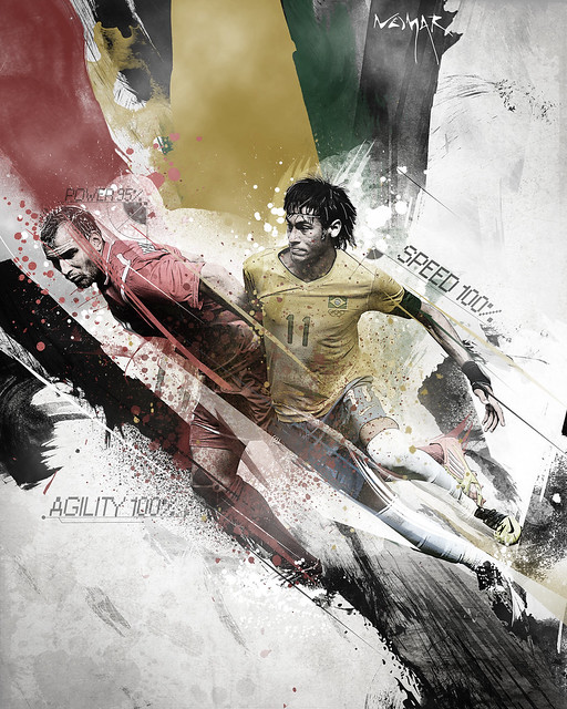 neymar vs final small by RICARDO FX
