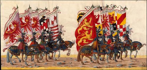 003-Triunfo del Emperador Maximiliano I…1700-Copyright Biblioteca Nacional de España