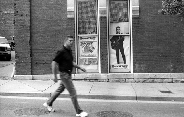 man walking (downtown Nashville, TN)