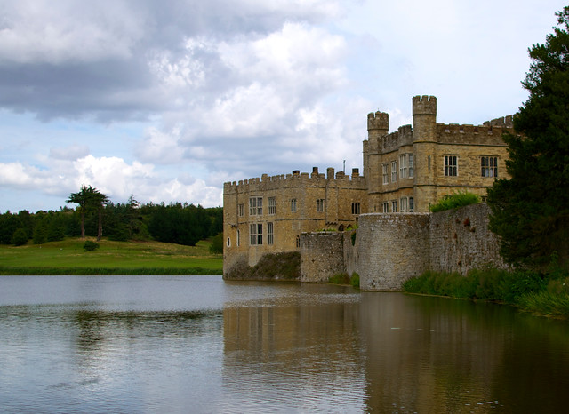 Leeds Castle And The Moat Flickr Photo Sharing