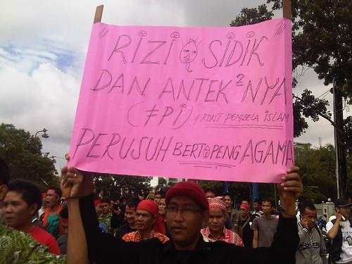 Penolakan FPI di Palangkaraya