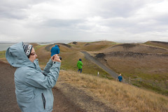 Iceland 8.8.12 - South Mývatn Pseudocraters
