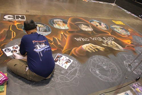 Chalk art - Star Wars Celebration VI