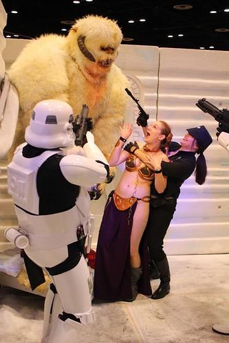 Wampa attack - Star Wars Celebration VI