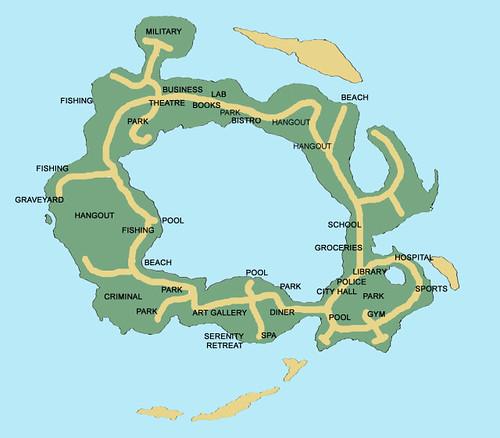 Sunlit Tides Map