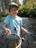Alex pleased with his first ever McCloud River trout, a Redband Rainbow!
