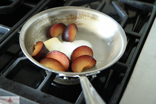 Plum Glazed Donuts from Heather Christo Cooks