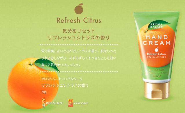 AROMA RESORT(アロマリゾート)|ハンドクリーム|クラシエ - Mozilla Firefox 27.08.2012 224006