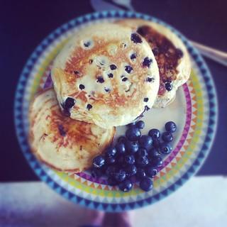 american blueberry pancakes (instagram)