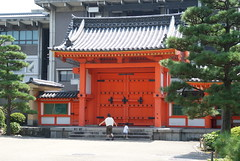 building, shinto shrine, chinese architecture, shrine, facade,