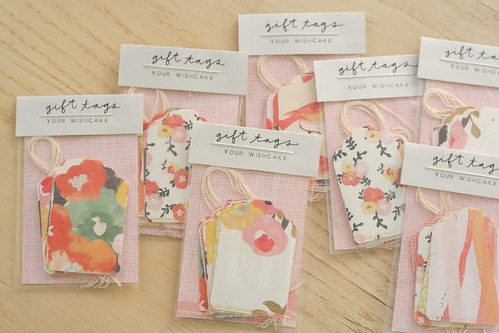 A whole bunch of assorted gift tags.