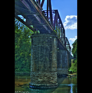 Caney Fork Railroad Bridge