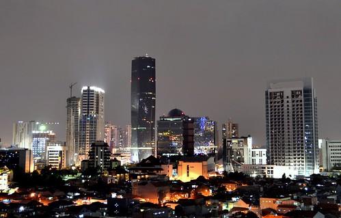 Skyline of Kuningan Area, Jakarta