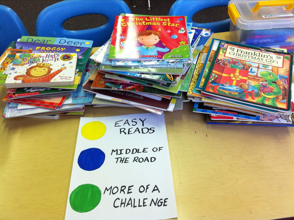 New categorization for classroom books.