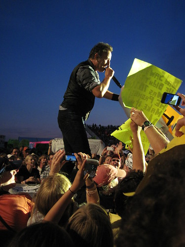Bruce Springsteen Sign Requests