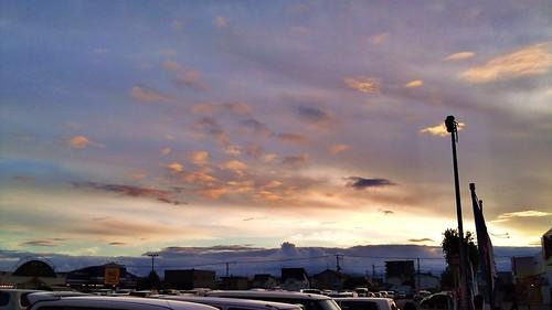sunset 夕景 flickrandroidapp:filter=none
