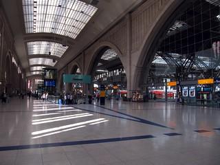 Hauptbahnhof Leipzig innen