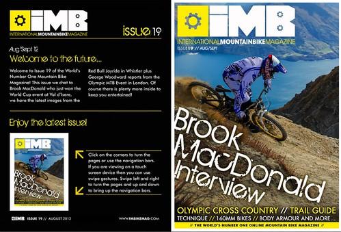 Issue 19   IMB   Free Mountain Bike Magazine Online