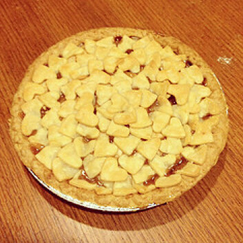 pretty apple pie